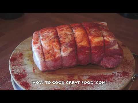 Roast Pork Joint Recipe Rosemary Paprika Garlic