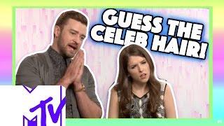 Justin Timberlake And Anna Kendrick Play GUESS THE CELEB HAIR | MTV Movies