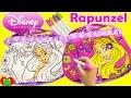 Disney Princess Rapunzel Coloring Purse Activity and Surprises