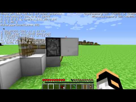Minecraft 1.7.4 Infinite Powered/Detector Rail Generator Tutorial!!! [HUN] Working!