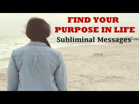 Find Your Life Purpose - Know Your Destiny | Subliminal Messages Meditation