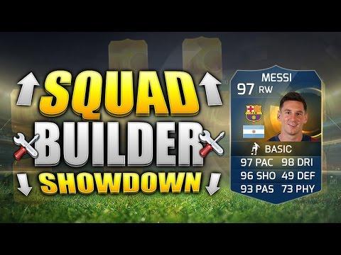 FIFA 15 SQUAD BUILDER SHOWDOWN!!! TOTS MESSI!!! Right Wing TOTS Messi Fifa 15 Squad Builder Duel