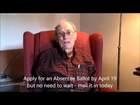 get your absentee ballot