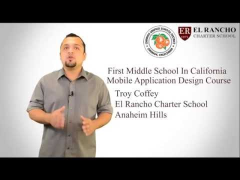 First Middle School In California to Implement Mobile Application Design and Development Course.
