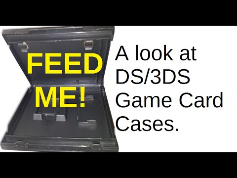 A quick look at DS and 3DS Game Card cases