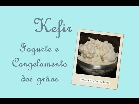 Kefir - Aprenda a fazer o iogurte e reserva de grãos