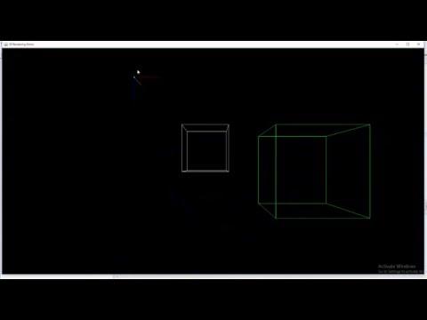 Java Perspective 3D rendering test
