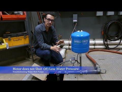 Troubleshoot: Water Well Pump Won't Shut Off