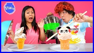 Download Squishy Vs. Real Food Challenge ! Girls Vs. Boys ! Video