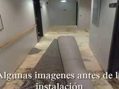 Glue Down Carpet Instalation