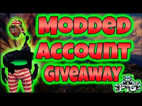 GTA 5 Online: MODDED ACCOUNT GIVEAWAY (FREE MONEY LOBBIES) + GTA 5