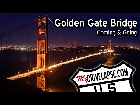 Let's Drive Across the Golden Gate Bridge
