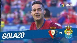Golazo de Sergio León (2-0) Osasuna vs UD Las Palmas