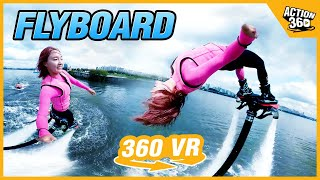 [Action 360] Fly over the waters of Seoul's Hangang River! The Iron Man on water, 'Flyboard'
