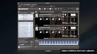 Urban Strings Sample Library - String Samples For Kontakt (For Music Producers, Film Scoring etc.)