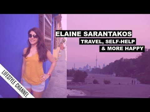 Welcome To My Lifestyle Channel | Elaine Sarantakos