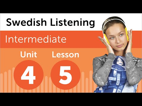 Swedish Listening Practice - Finding Your Way Around a Building in Sweden