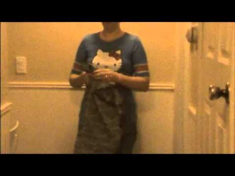 How to Fold your Nursing Cover