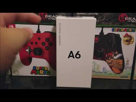 Metro by T-Mobile Samsung Galaxy A6 Unboxing