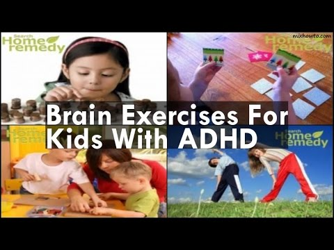 Brain Exercises For Kids With ADHD