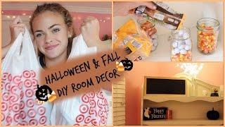 Diy Fallhalloween Room Decor Summer Mckeen