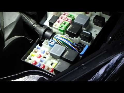How to change fuses and relays Ford Focus. Year models 2011-2014