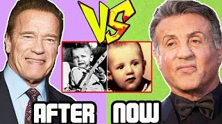 Sylvester Stallone vs Arnold Schwarzenegger - Transformation From 1 To 70 Years Old 2018