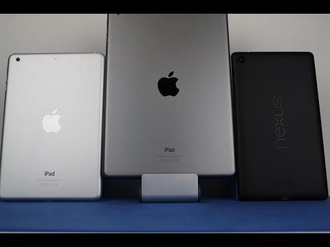 iPad mini Retina vs iPad Air vs Nexus 7 2013 - Speed Test