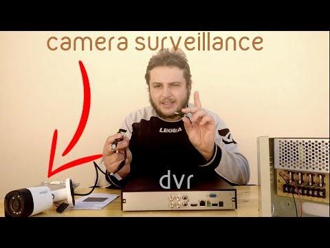 تعرف على مكونات تركيب كاميرات المراقبة الاساسية في العمل بالتفصيل
