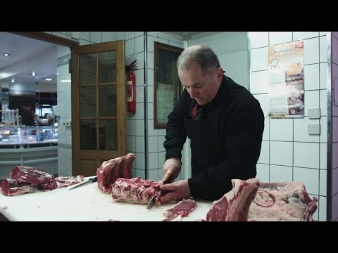 The French art of meat carving