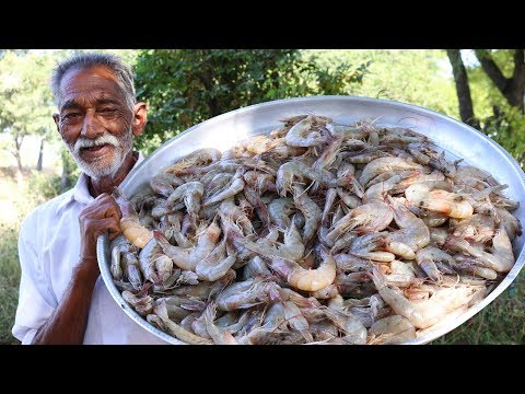 Prawns Biryani Recipe | Quick and Easy Shrimp Biryani By Our Grandpa