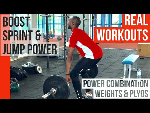 REAL WORKOUTS FOR JUMPERS & SPRINTERS (& basketball etc) How to achieve more power