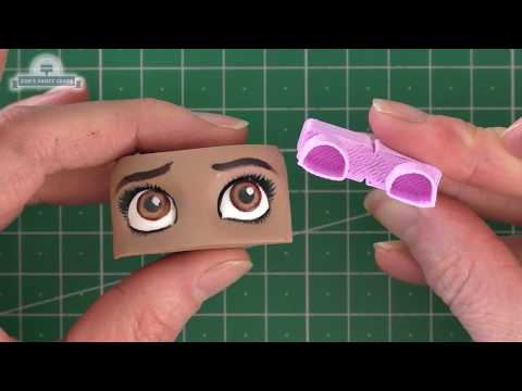 How to use Silvia Mancini Easy Eyes Cake Decorating Tutorial