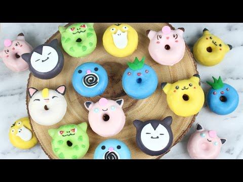 How to Make Mini Pokemon Donuts!