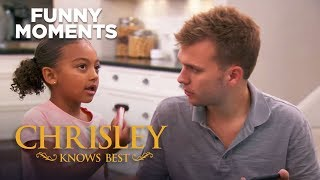 Chrisley Knows Best | Chloe And Chase Put Makeup On Ronndell | S7 Ep26 | on USA Network