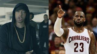LeBron James RESPONDS to Eminem