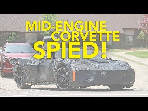 2020 Mid-Engine Corvette C8 Spied Testing