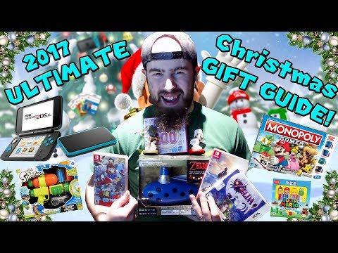 Nintendo ULTIMATE 2017 Christmas Holiday Gift Guide! (The Best Nintendo Gifts)