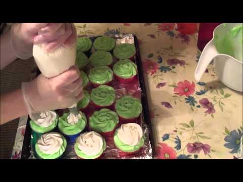 Making Margarita Lime Cold Process Soap Cupcakes
