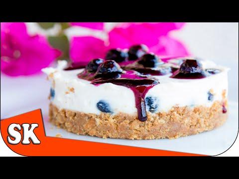 How to make a No Bake Blueberry Cheesecake