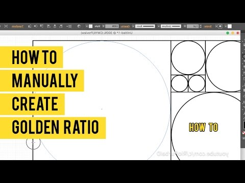 How to Manually Create a Golden Ratio in Adobe Illustrator small