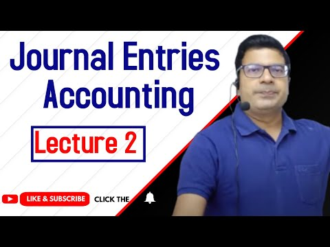 Journal entry   Accounting    lecture 2 by SANTOSH KUMAR (CA/CMA)