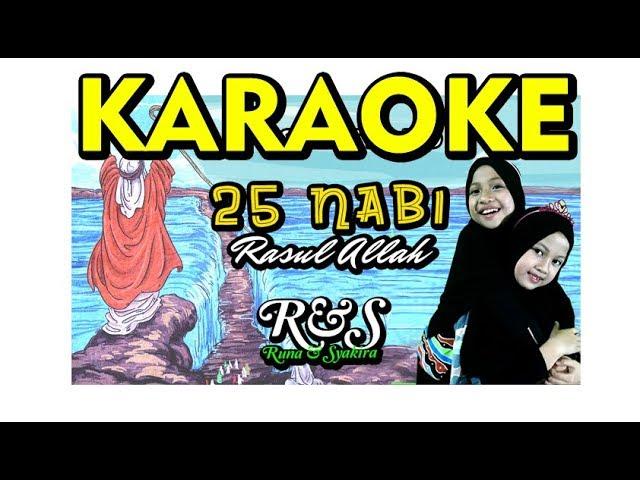 Lagu 25 NABI ( KARAOKE ) Runa Syakira