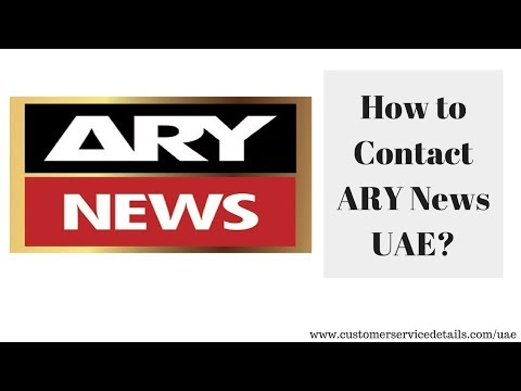 ARY News UAE Head Office Address, Phone Number, Email ID, Website