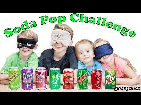 SODA POP CHALLENGE!!!