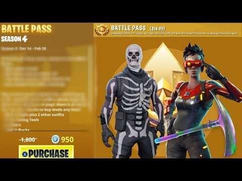 NEW Season 4 BATTLE PASS UPDATE Info - Map Change, Theme & MORE! (Fortnite Battle Royale)