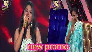 Omg! Arunita kanjilal new promo song  asha bhosle standing ovation  indian idol 12