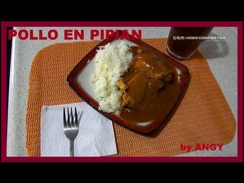 POLLO EN PIPIAN FACIL Y RAPIDO by ANGY