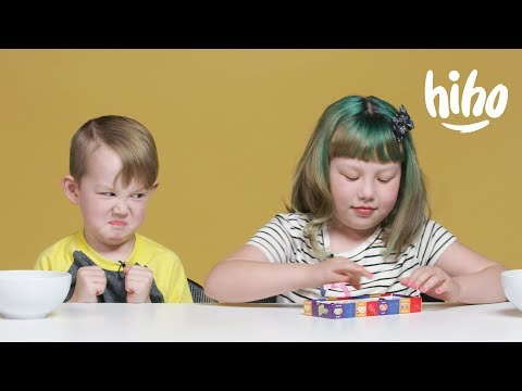 Kids Play Bean Boozled Challenge | Kids Play | HiHo Kids