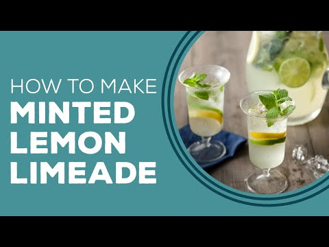 Mint Lemon Limeade by Paula and Bobby Deen - Blast from the Past
